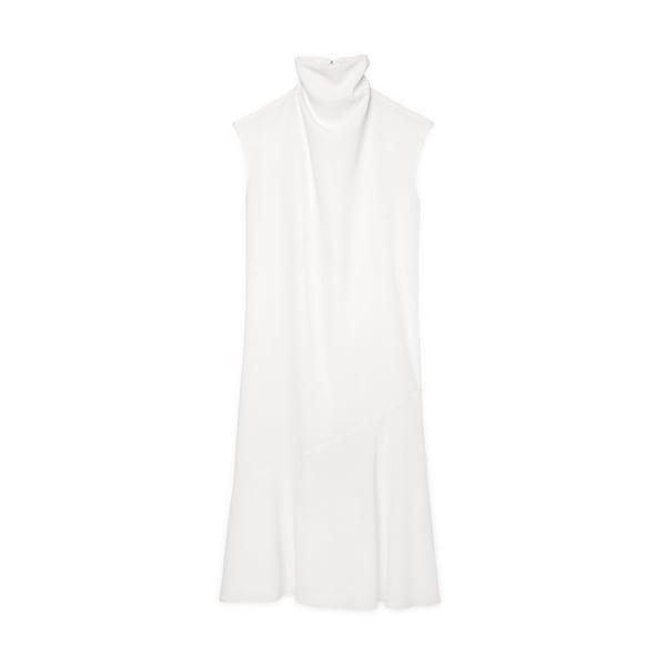 G. Label Larsen High-Neck A-Line Dress