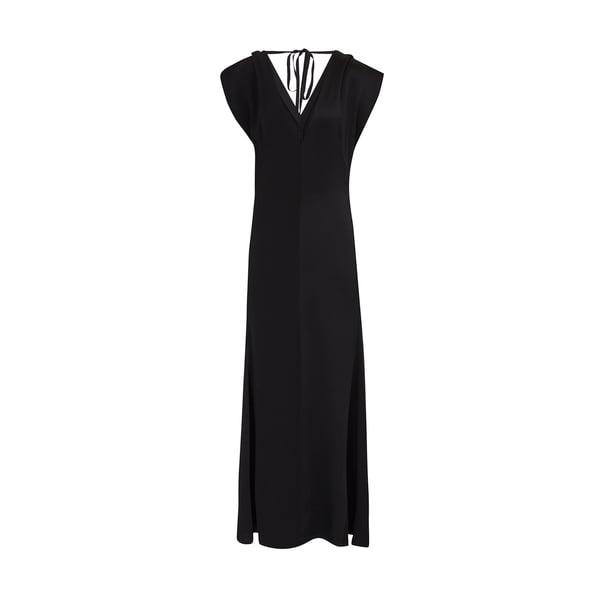Victoria Beckham Double V Midi Dress