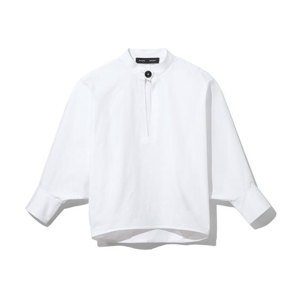 Proenza Schouler Keyhole Cotton Top