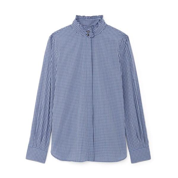G. Label Monica Pleated-Collar Shirt