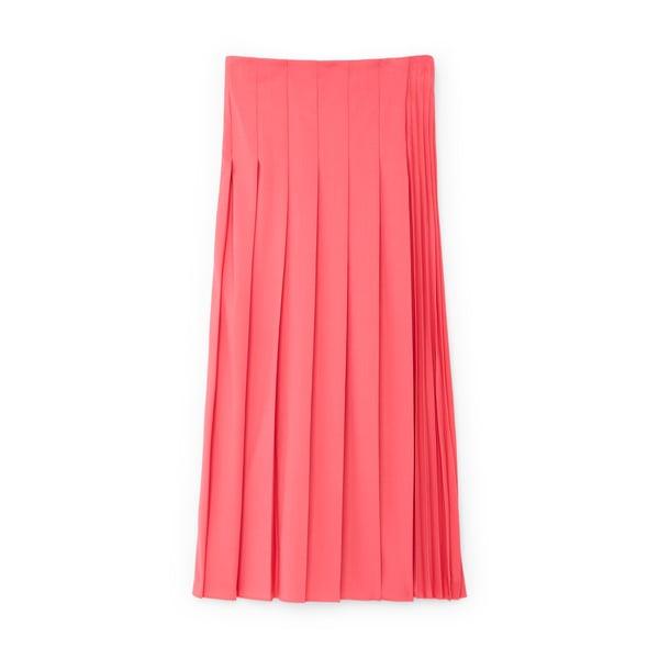 Joseph Sallis Pleated Midi Skirt