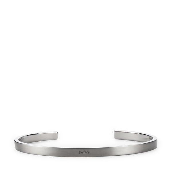 HNDSM Be Well Grey Titanium Cuff