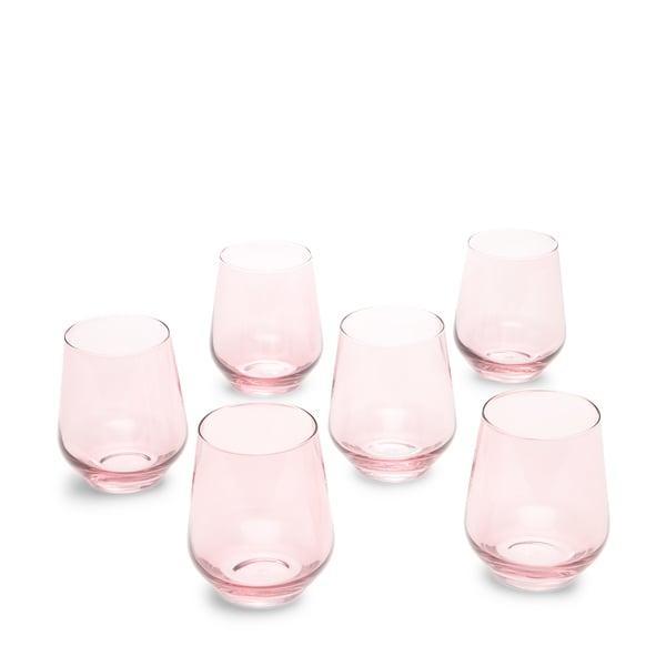 Estelle Stemless Glasses, Set of 6
