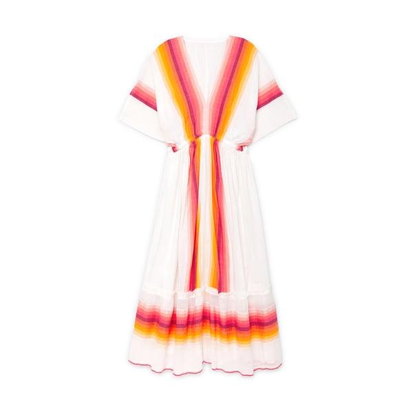 Lemlem Teref Plunge-Neck Dress
