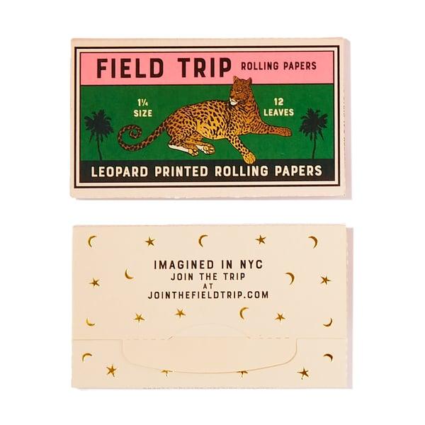 Field Trip Leopard-Print Rolling Papers
