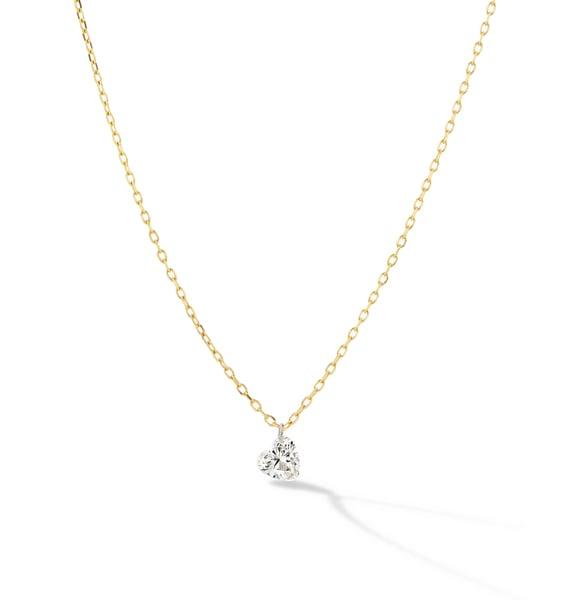 Sophie Ratner Pierced Heart Necklace