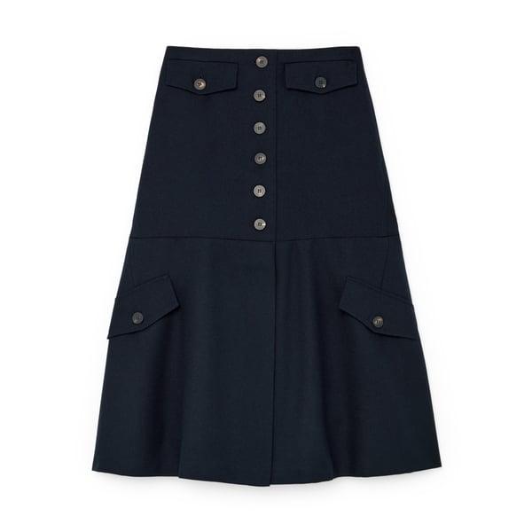 Victoria Beckham Utility Flare Skirt