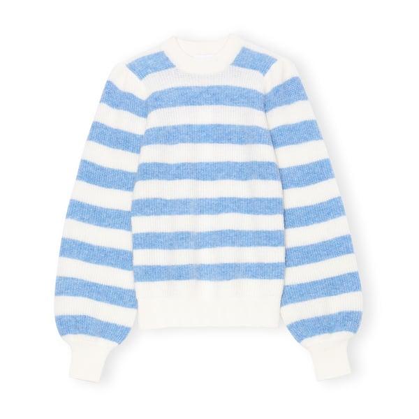 Ganni Soft Striped Pullover
