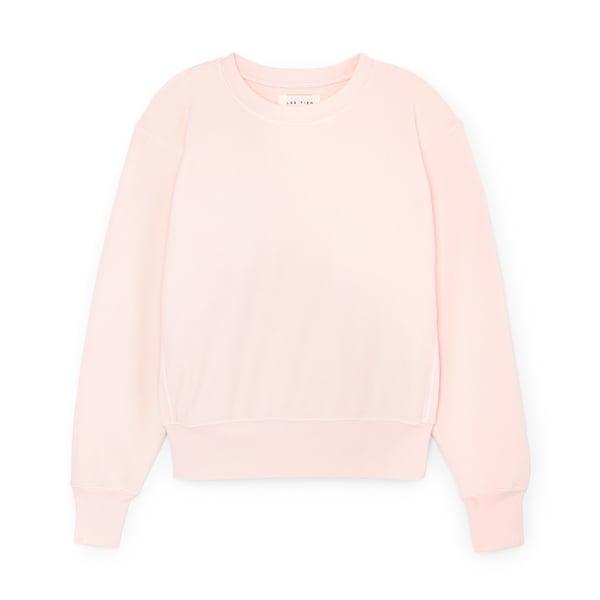 Les Tien Cropped Crewneck Sweatshirt