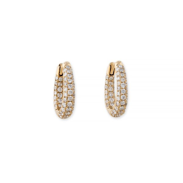 Jacquie Aiche Inside-Out Oval Hoops