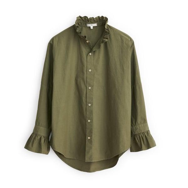 Easy Ruffle Shirt