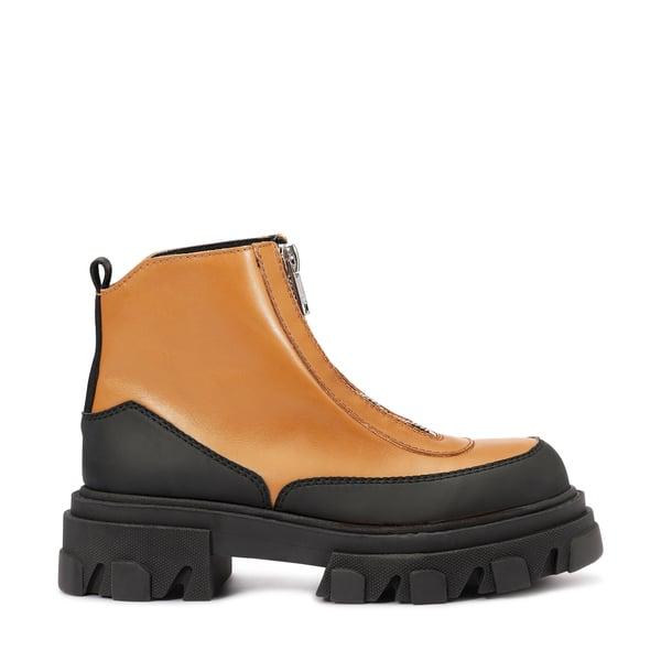 Ganni Polido Zipper Boots