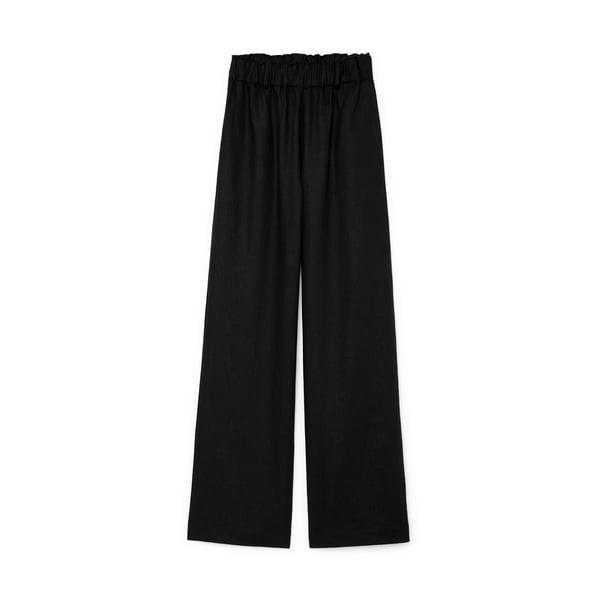 Matin Linen Pull-On Pants
