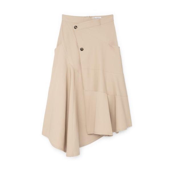 JW Anderson Wrap Effect Skirt