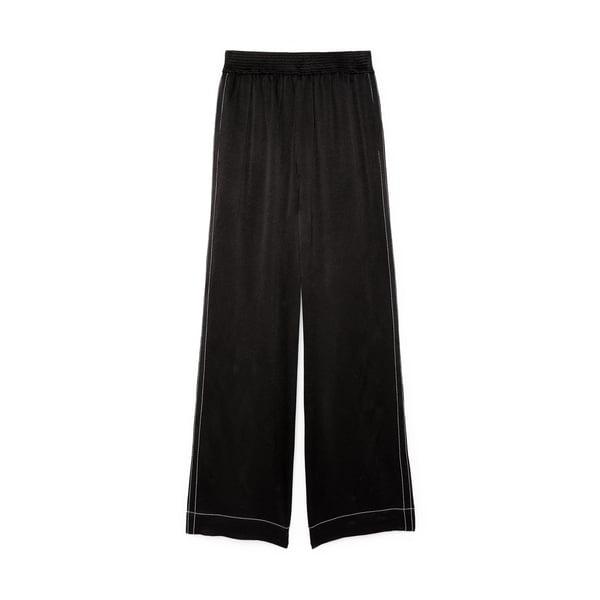 Proenza Schouler White Label Dobby Crepe Pajama Pants