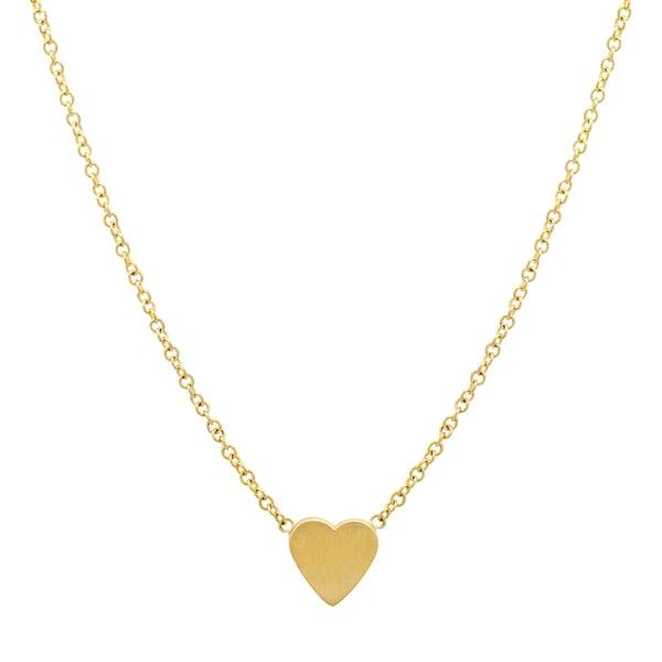 Jennifer Meyer Mini Heart Necklace