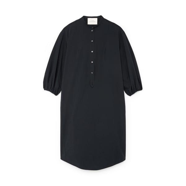 Studio Nicholson Gathered-Sleeve Shirtdress