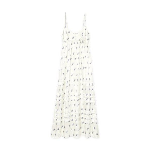 Lee Mathews Greta Pleated Slip Dress