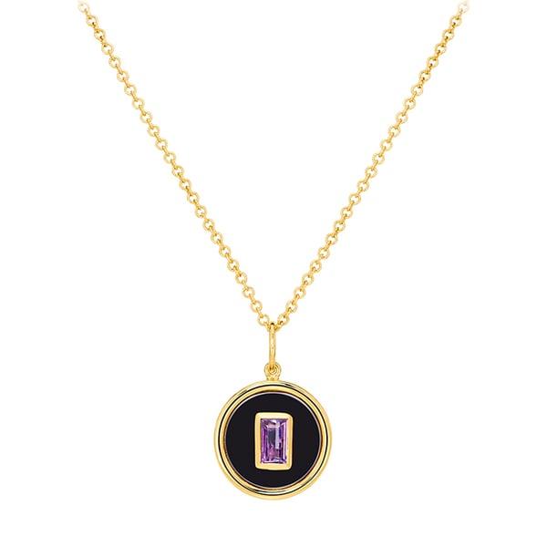 Sauer Birthstone Necklace