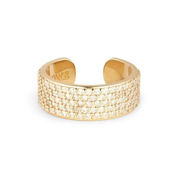 Sheryl Lowe Diamond Cuff Ring