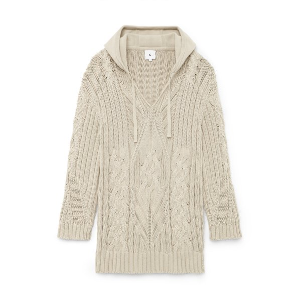 G. Label Silberg Cable Surf Sweater