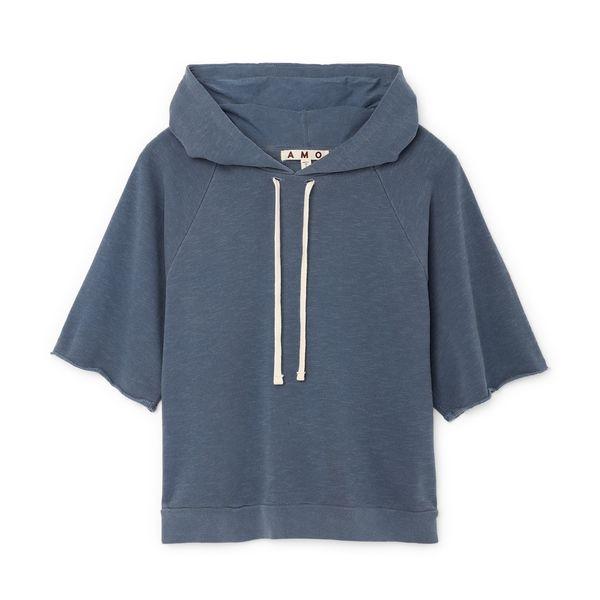 AMO Short-Sleeve Raglan Hoodie