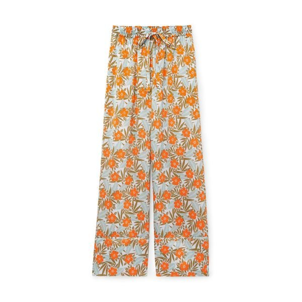 Lee Mathews Bella Silk Satin Pants