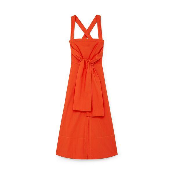 Proenza Schouler Poplin Apron Dress