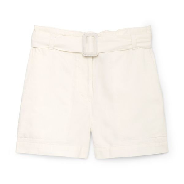 Proenza Schouler Cotton Chambray Shorts