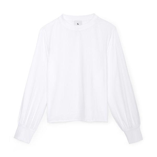 G. Label Roman Poet-Sleeve Shirt