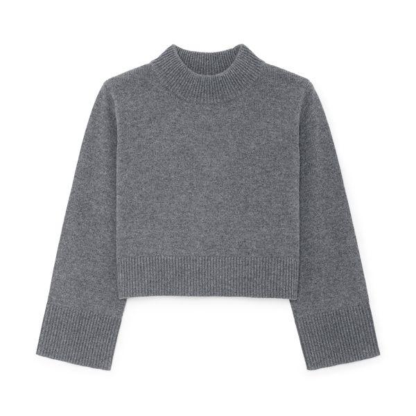 Co Boxy Crewneck Sweater