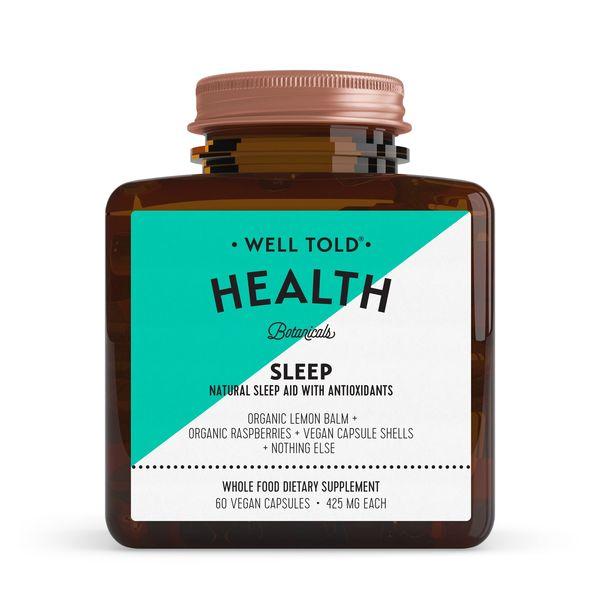 Well Told Health SLEEP Natural Sleep Aid with Antioxidants