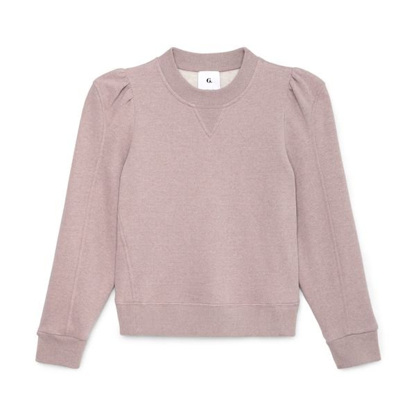 G. Label Valentina Puff-Sleeve Sweatshirt