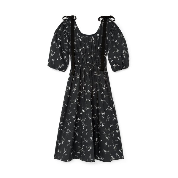 G. Label Beverly Midlength Bow Dress