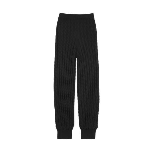 Toteme Cashmere Cable-Knit Slacks