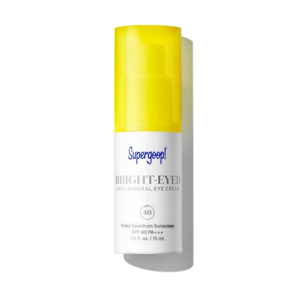 Supergoop Bright-Eyed 100% Mineral Eye Cream SPF 40