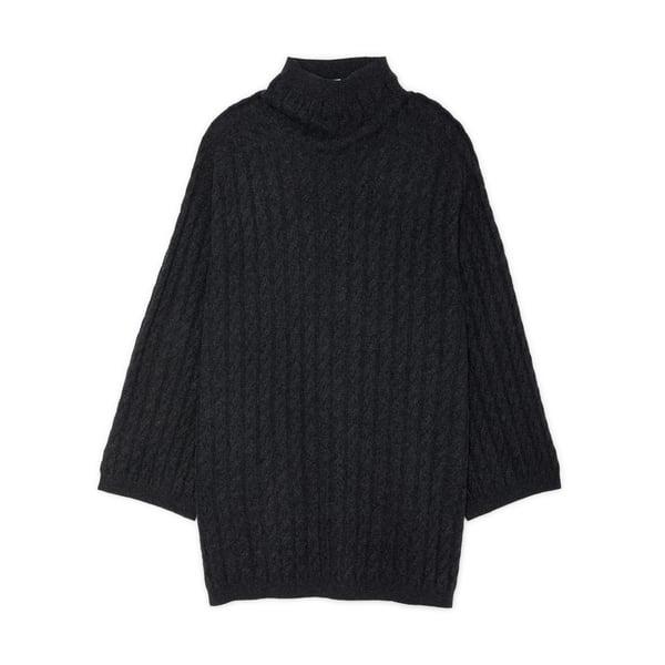 Toteme Long Cashmere Cable Knit