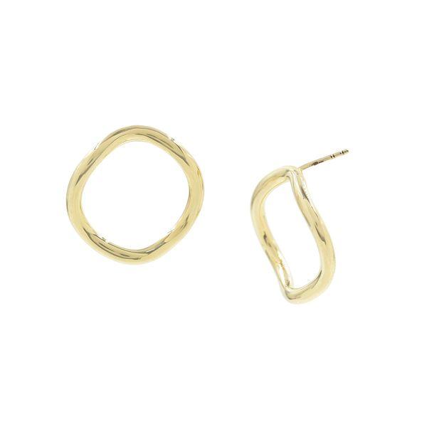 Bondeye Jewelry Golden Wave Studs