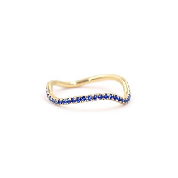 Bondeye Jewelry Birthstone Wave Ring