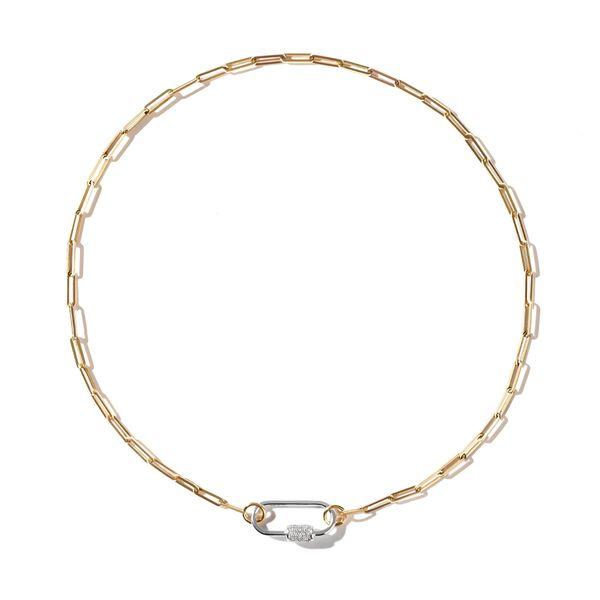 AS29 Medium Oval Carabiner Necklace