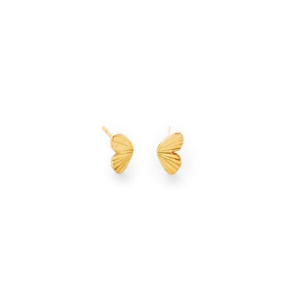 James Banks Design Tiny Baby Asterope Wing Studs