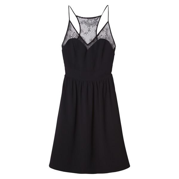 Anne Hathaway's Black & Lace Dress