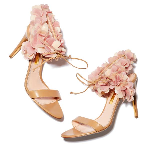 Cassandra Flowers High Heel Sandals