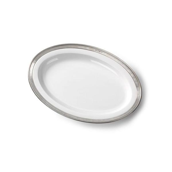 Convivio Small Oval Serving Platter