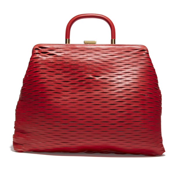 Drew Barrymore's Red Leather Bag