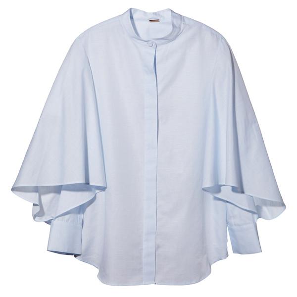Flounce Sleeve Shirt