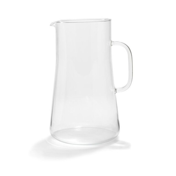 German Glass Pitcher