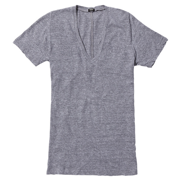 granite v-neck t-shirt