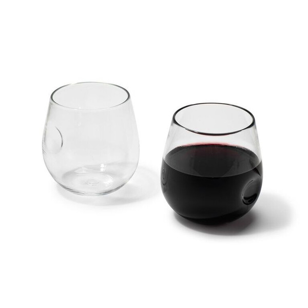 ANDREW O. HUGHES Hand-Blown Red Wine Glass