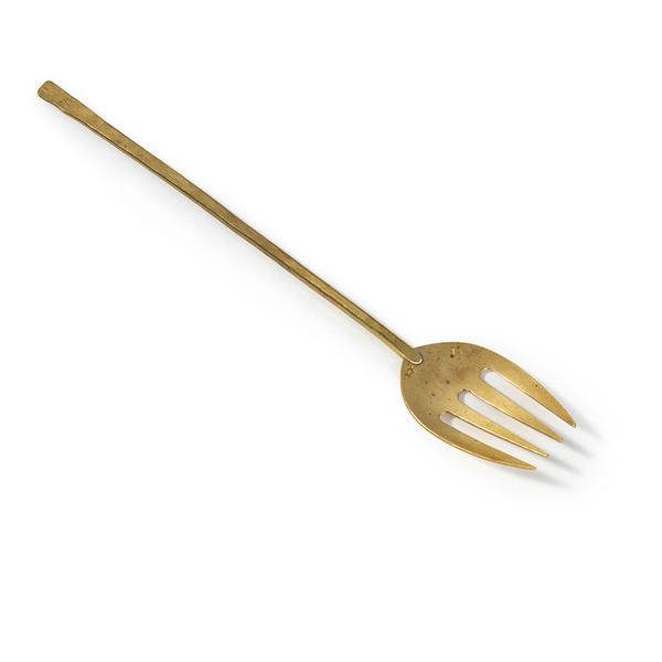 Japanese Brass Serving Fork